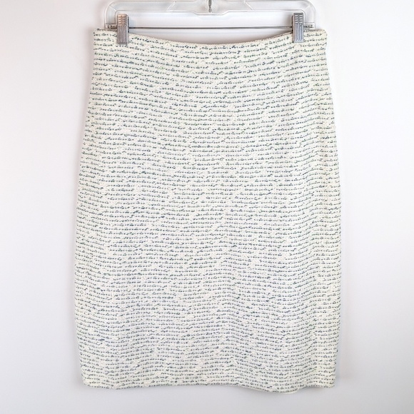 St. John Dresses & Skirts - St. John Santana Knit Cream Confetti Boucle Skirt